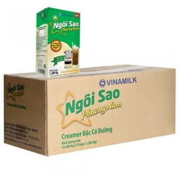 sản phẩm Sữa đặc phương nam 1 lít (1 thùng 12 hộp giấy)