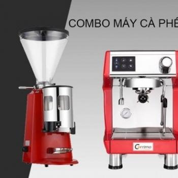 sản phẩm Cho Thuê - Máy pha cà phê + Máy xay cà phê (M-Coffee Bean)