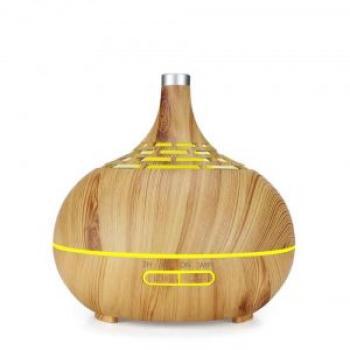 sản phẩm Máy khuếch tán tinh dầu bầu tiên hoa văn vàng 400ml – Bảo hành 1 năm