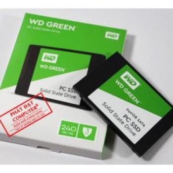 sản phẩm SSD WD Green 240G Chính hãng