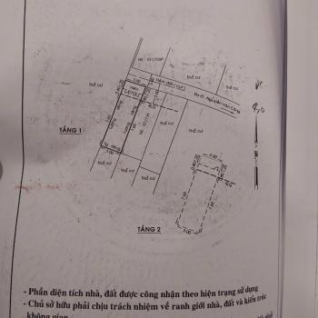 sản phẩm Nhà nguyễn văn công, gò vấp 3m x 10m (1 trệt 3 lầu)