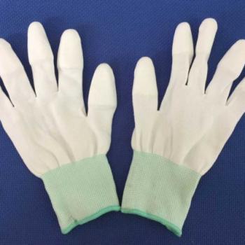 sản phẩm Găng tay phủ ngón PU trắng Size M